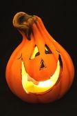 Halloween pumpkin light — Stock Photo
