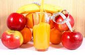 健身 fruits1 — 图库照片
