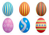 Easter eggs1 — Stock Vector