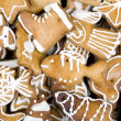 Royalty-Free Stock Photo: Gingerbread figures