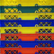 Colorful shopping basket — Stok Fotoğraf #12319751