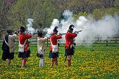 スコットランドの兵士を撮影 — ストック写真