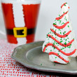 Christmas tree cake - Stock Photo
