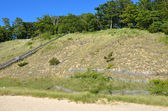 Lago michigan duna — Foto de Stock