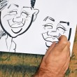 Stock Photo: Cartoon caricature
