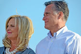 Mitt and Ann Romney — Stock Photo