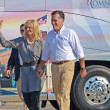 Mitt and Ann Romney - Stock Photo