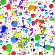 Stock Photo: Colorful paint splatters
