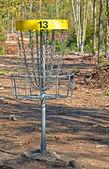 Cage de golf frisbee — Photo