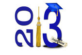 Graduation for 2013 — Stock Photo