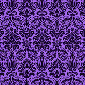 Purple damask background — Stock Photo