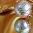 Christmas reflection - Stock Photo