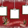 Royalty-Free Stock Photo: Holiday Tinsel frames