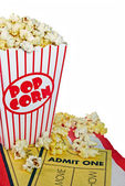Movie popcorn — Stock Photo