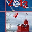 2013 Nautical Christmas - Stock Photo
