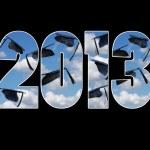 Graduation caps for 2013 — Stock Photo #22140729