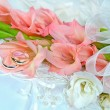 Gladiolwedding bouquet — Stock Photo #28905703
