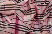 Pink taffeta fabric — Stock Photo