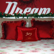 Christmas bedroom — Stock Photo #32193465