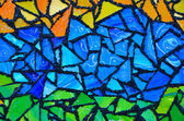 Stained glass abstract — Stock Photo