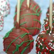 Stock Photo: Christmas cake pops