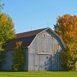 Old barn in autumn — Fotografia Stock  #38017665