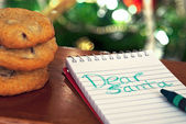 Note to Santa — Stock Photo
