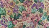 старомодный цветочный гобелен — Стоковое фото