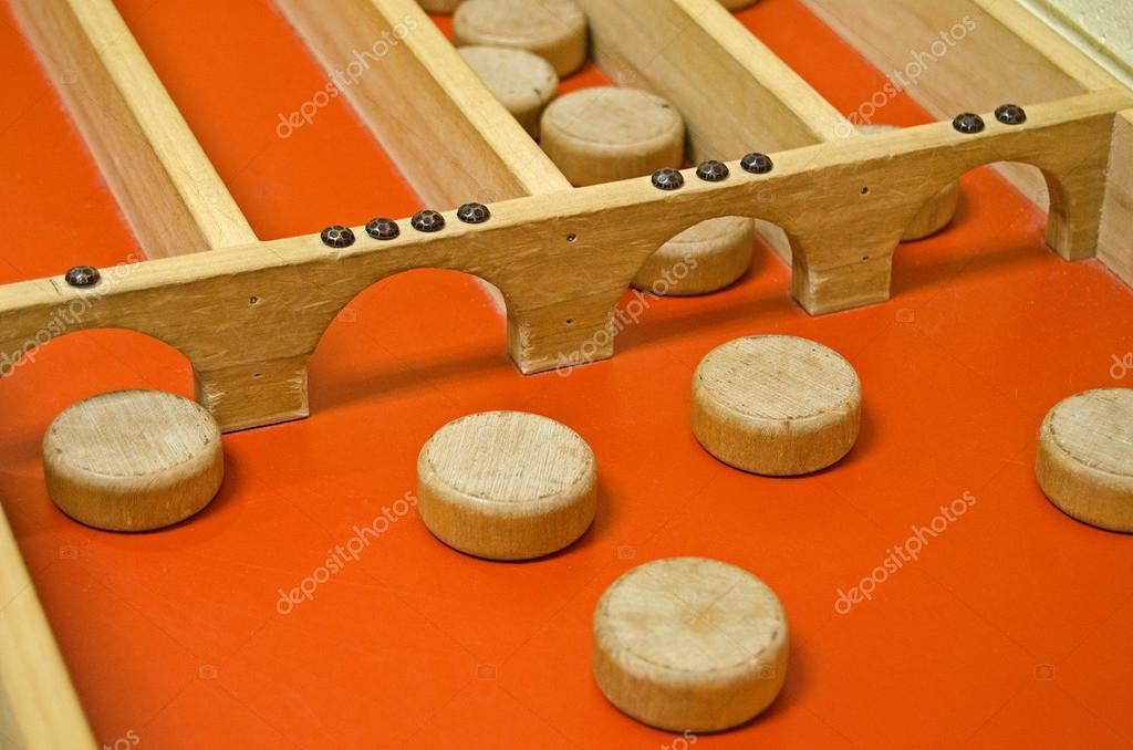 Shuffleboard clipart