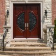 Front door — Stock Photo