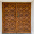 Ornamented door — Stock Photo