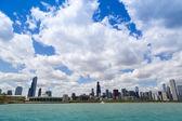Chicago lakeshore — Zdjęcie stockowe