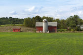 Farm landscape — Stock Photo