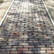 Stock Photo: Paved track