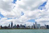 Panoramę chicago — Zdjęcie stockowe