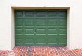 Garage door — Stock Photo