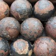 Cannon balls — Stock Photo #31577955