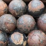 Cannon balls — Stock Photo #31577955