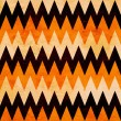 Halloween chevron — Stock Photo
