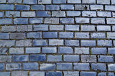 Blue cobblestones — Stock Photo