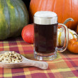 Stock Photo: Pumpkin ale
