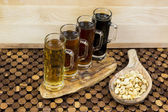 Beer flight — Foto Stock