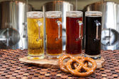 Beer flight — Stockfoto