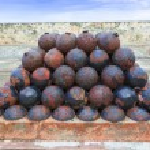 Cannon balls — Stock Photo #39473213