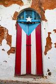 Puerto Rican door — Stock Photo