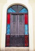 Spanish door — Stock Photo