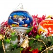 Stock Photo: Christmas colored balls decorations