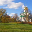 Fedorovsky cathedral in Pushkin, Russia. — Stock Photo