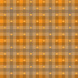 Vector - Leaf maple & Gingham Seamless Pattern — Vector de stock #13883652