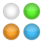 Blank badge template (four colors) — Stockvector